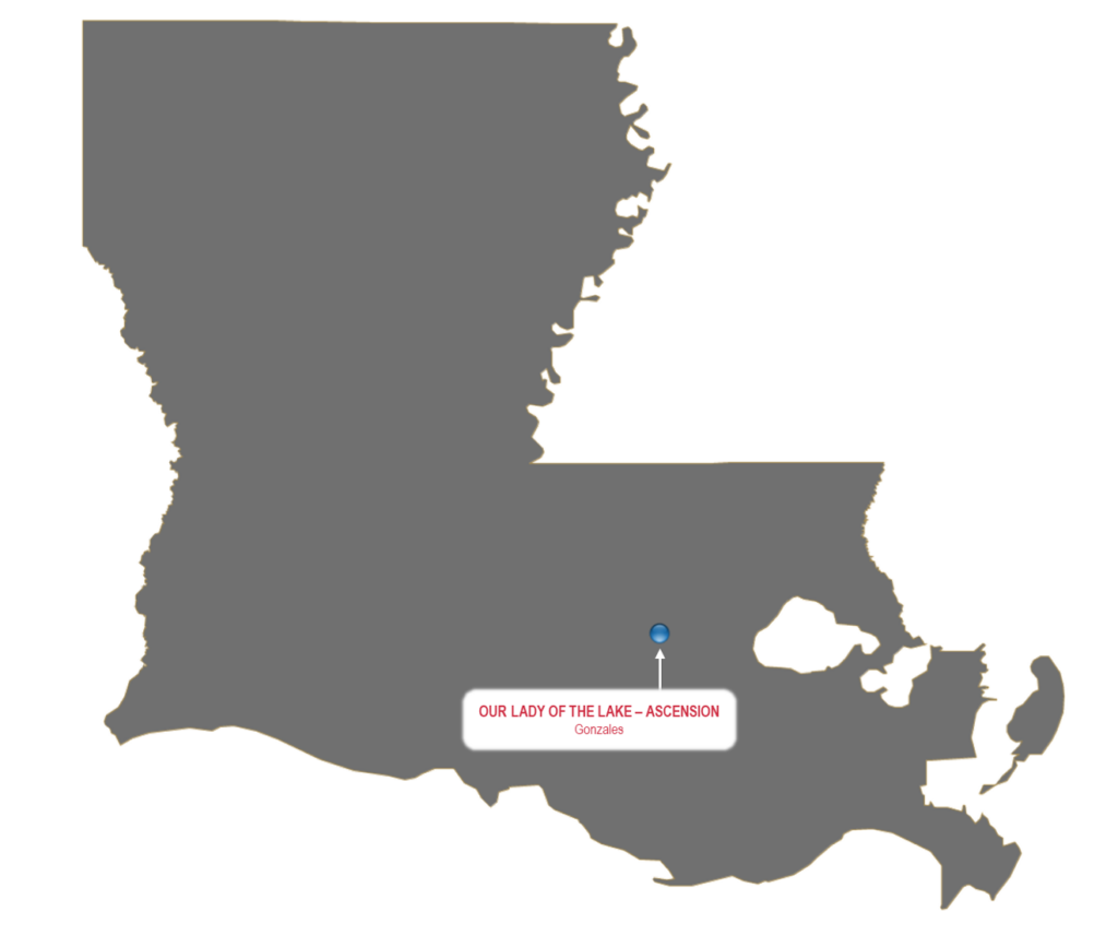Ascension Emergency Physicians (AEP) Location Map